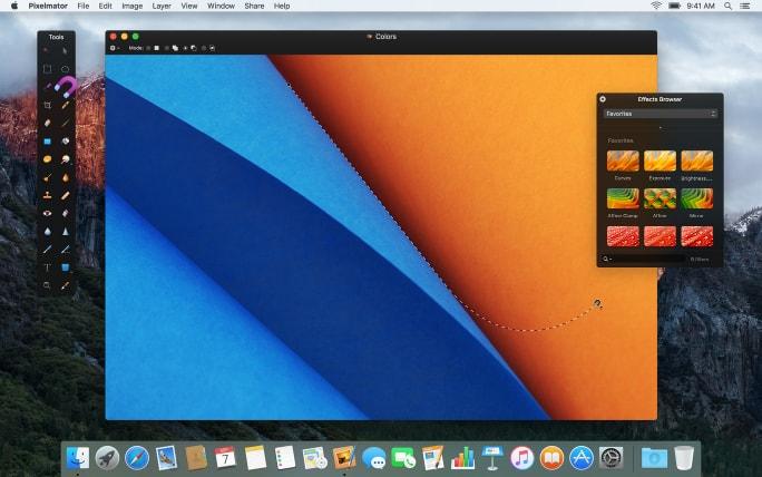 Pixelmator 3.5 Canyon - Programa para Mac de retoque fotografico
