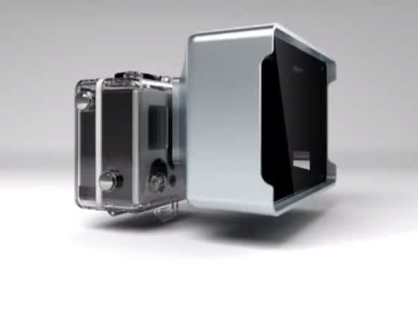 Una lente que le permite a tu GoPro grabar vídeos en 3D