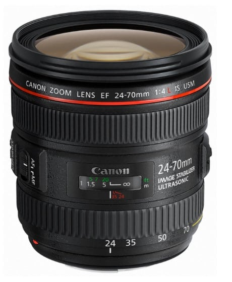 Canon 24-70 mm f/4 L IS USM EF - Objetivo para Canon