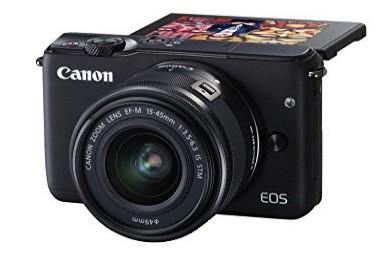Canon EOS M10 - Cámara compacta con objectivo EF 15-45 mm