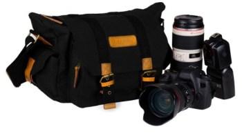 TARION - Bolsa vintage para cámaras y lentes