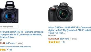 Cámaras de segunda mano en Amazon España