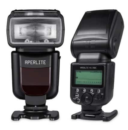 Flash Aperlite Speedlite YH-700C, casi mejor que los flash de Canon por mucho menos dinero, unos 100 euros