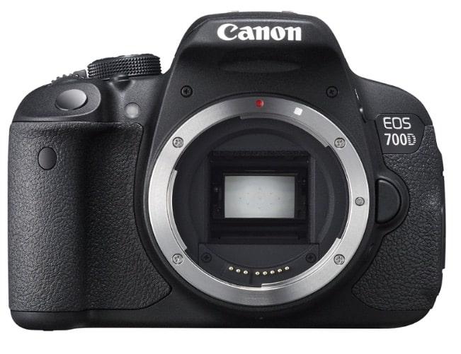 Canon EOS 700D - Cámara réflex digital de 18.0 Mp