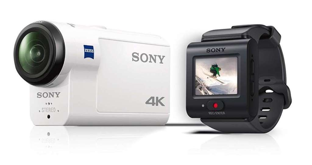Sony Action Cam FDR-X3000R - Videocámara aventura