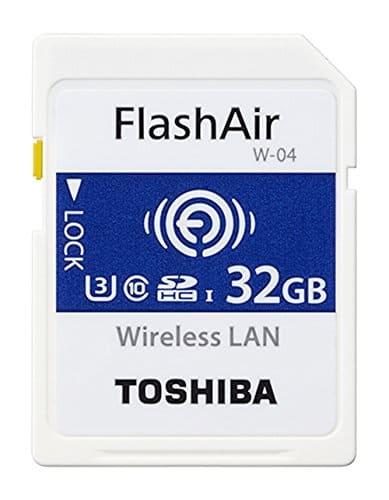 Tarjeta WIFI Toshiba FlashAir W-04(32GB)