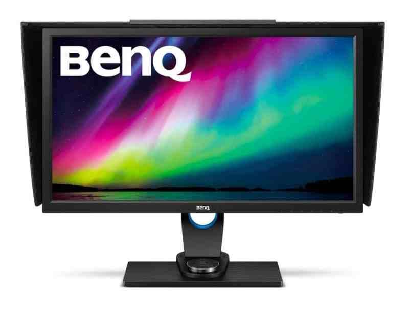 El mejor monitor para edición y retoque fotográfico en 2017 por menos de 1000 euros: BenQ SW2700PT