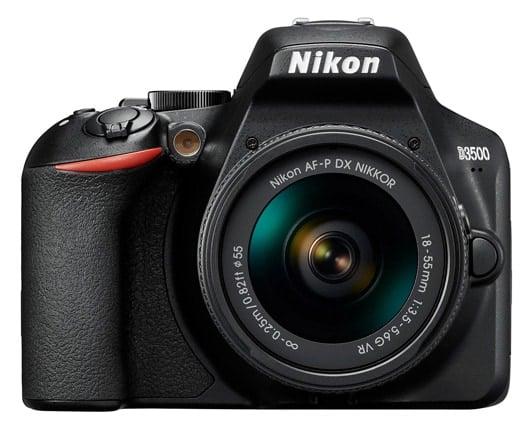 Cámaras Nikon DSLR para principiantes:Nikon D3500