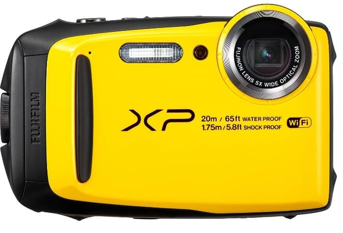 Las mejores cámaras acuáticas:Fujifilm FinePix XP120
