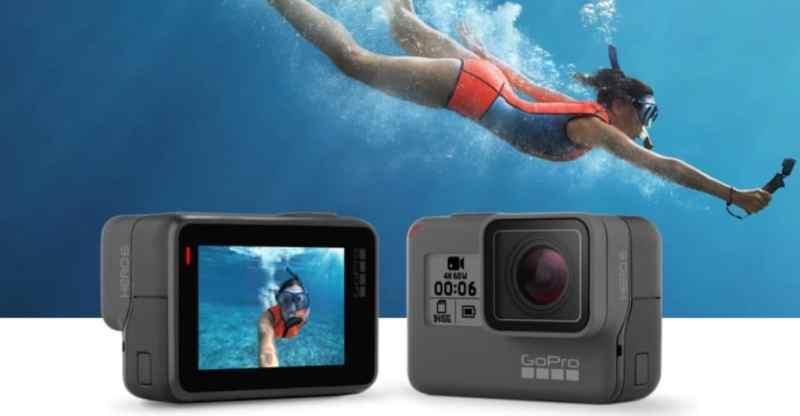 GoPro Hero 6: 4K 60 FPS, fotos HDR y mejor estabilización de imágen