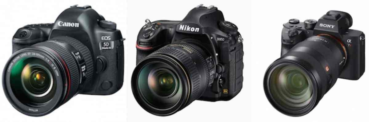 Cómo elegir y comprar una buena cámara fotográfica digital en 2018