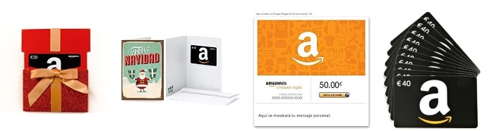 cheques regalo amazon españa