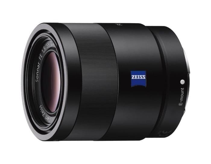 Sony SEL55F18Z - Objetivo ZA montura E para Sony/Minolta (distancia focal fija 35mm, apertura f/1.8) color negro