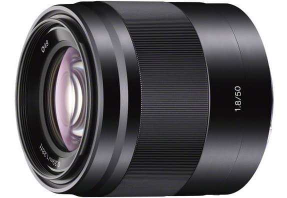 Sony SEL-50F18 OSS - Objetivo para Sony