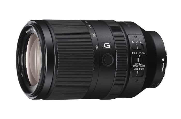 Sony SEL70300G - Objetivo zoom telescópico (70-300 mm, f/4.5-5.6)