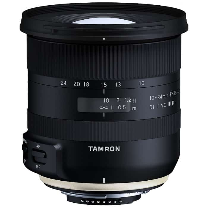Tamron 10-24mm f/3.5-4.5 Di II VC HLD - Objetivo gran angular para Nikon