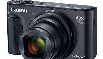 Cámaras bridge y superzoom de Canon: PowerShot SX740 HS