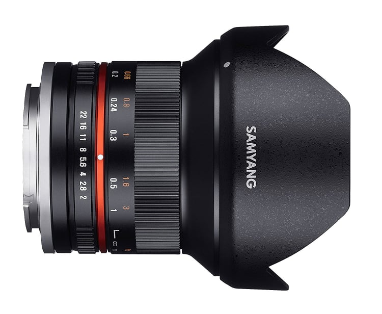 Samyang 12mm f/2-22 NCS CS