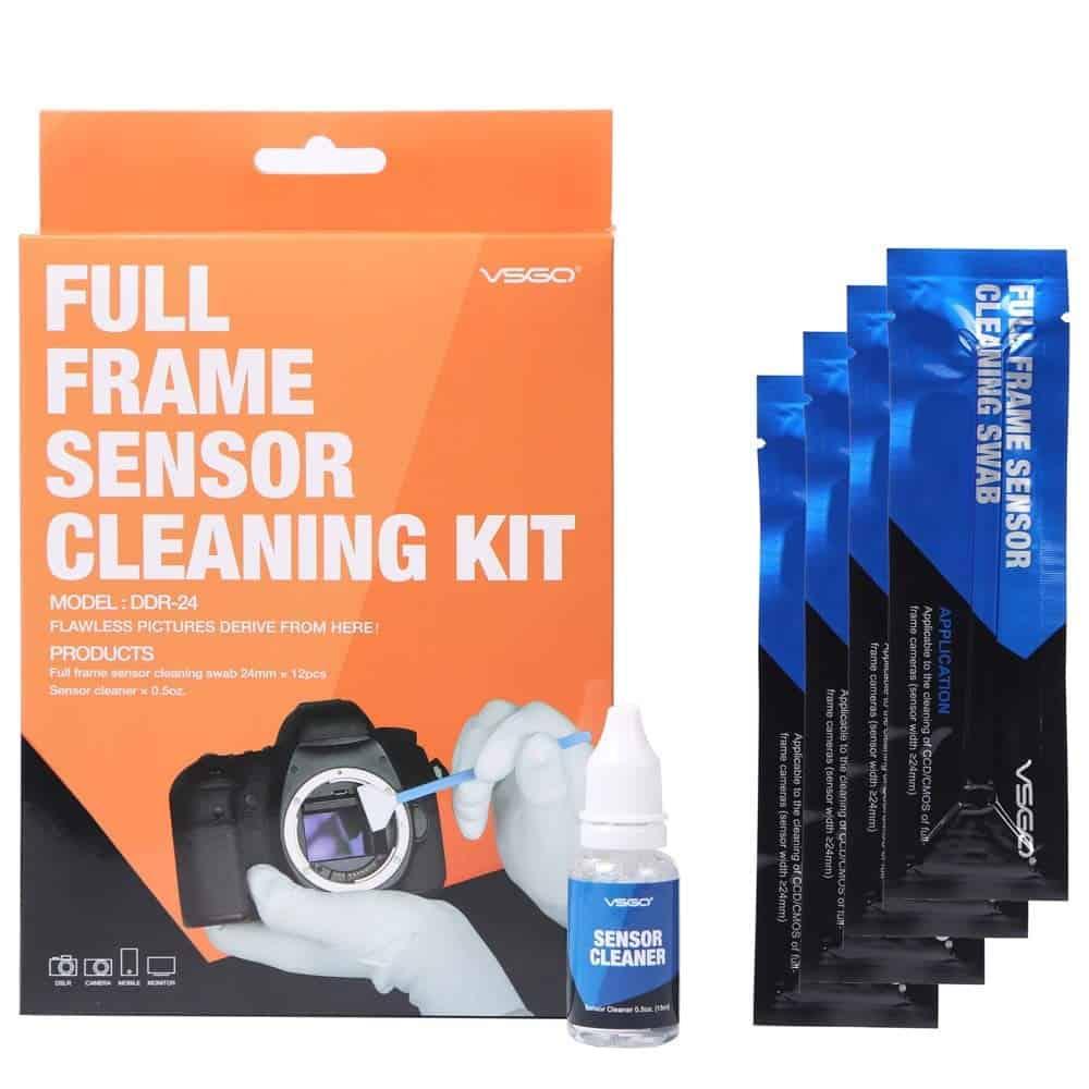 Kit para limpiar sensor camara Full Frame