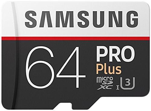Samsung Memory Pro Plus - Tarjeta de memoria de 64 GB