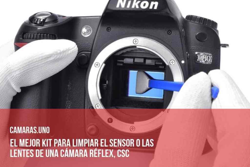 El mejor kit para limpiar el sensor o las lentes de una cámara réflex, CSC (EVIL)