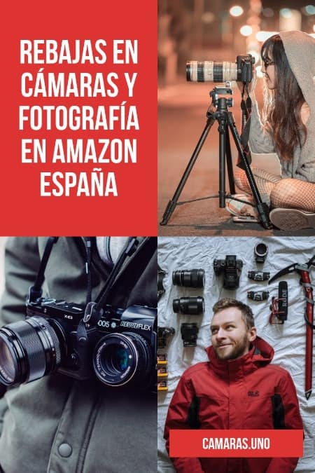 TOP REBAJAS EN AMAZON ESPAÑA en fotografía en 2019
