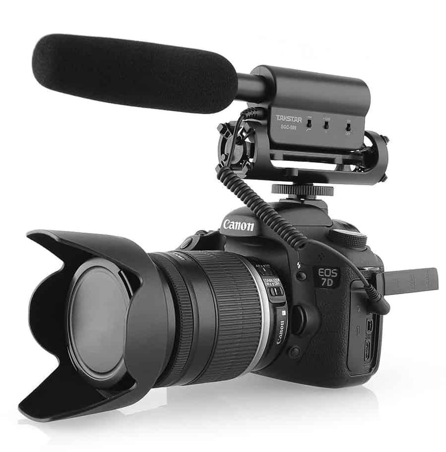 TAKSTAR DV SGC-598: El micrófono más barato para tu cámara DSLR
