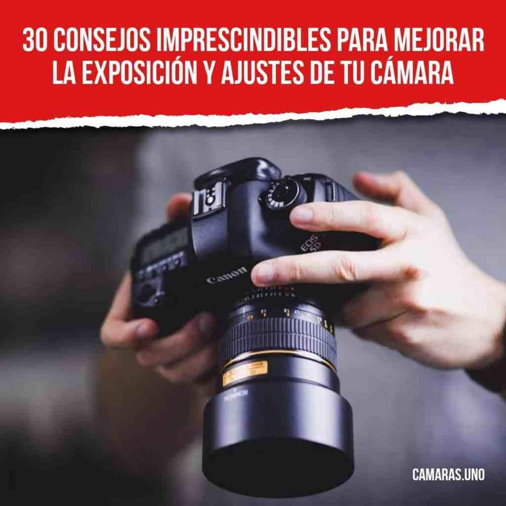 ¿Qué consejos y trucos debes seguir para mejorar la exposición y controlar los ajustes de tu cámara?
