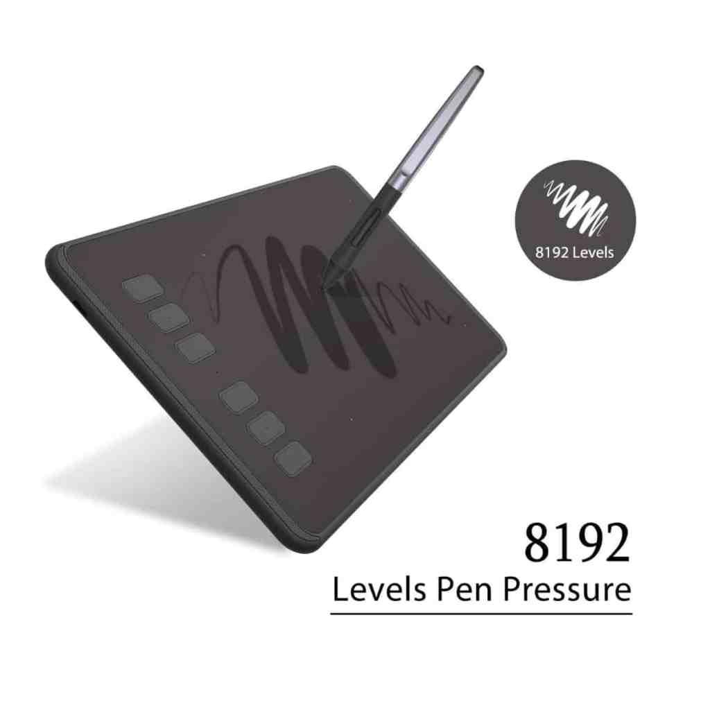 HUION INSPIROY H640P - Tableta gráfica realmente barata