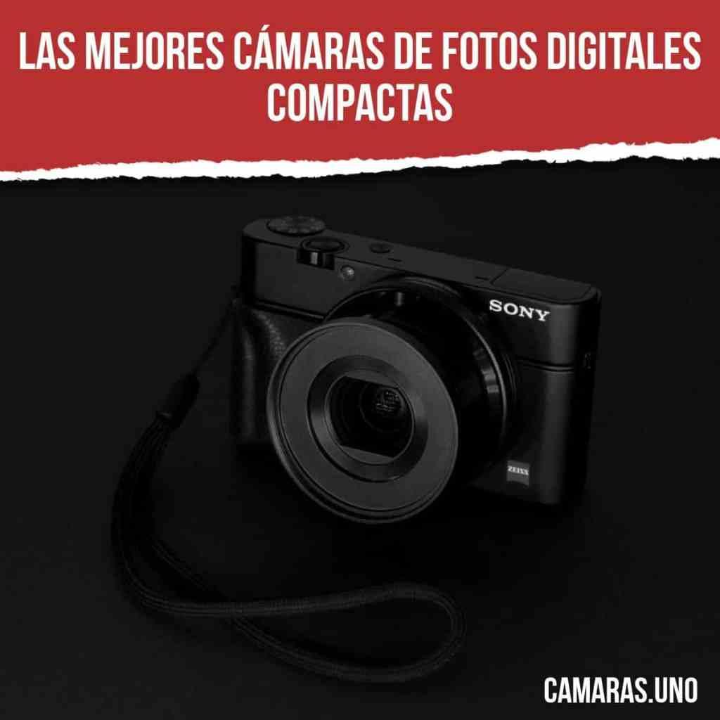Las mejores (buenas y baratas) cámaras de fotos digitales compactas