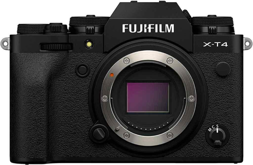 Fujifilm X-T4 - Cámara Digital sin Espejo de Objetivo Intercambiable