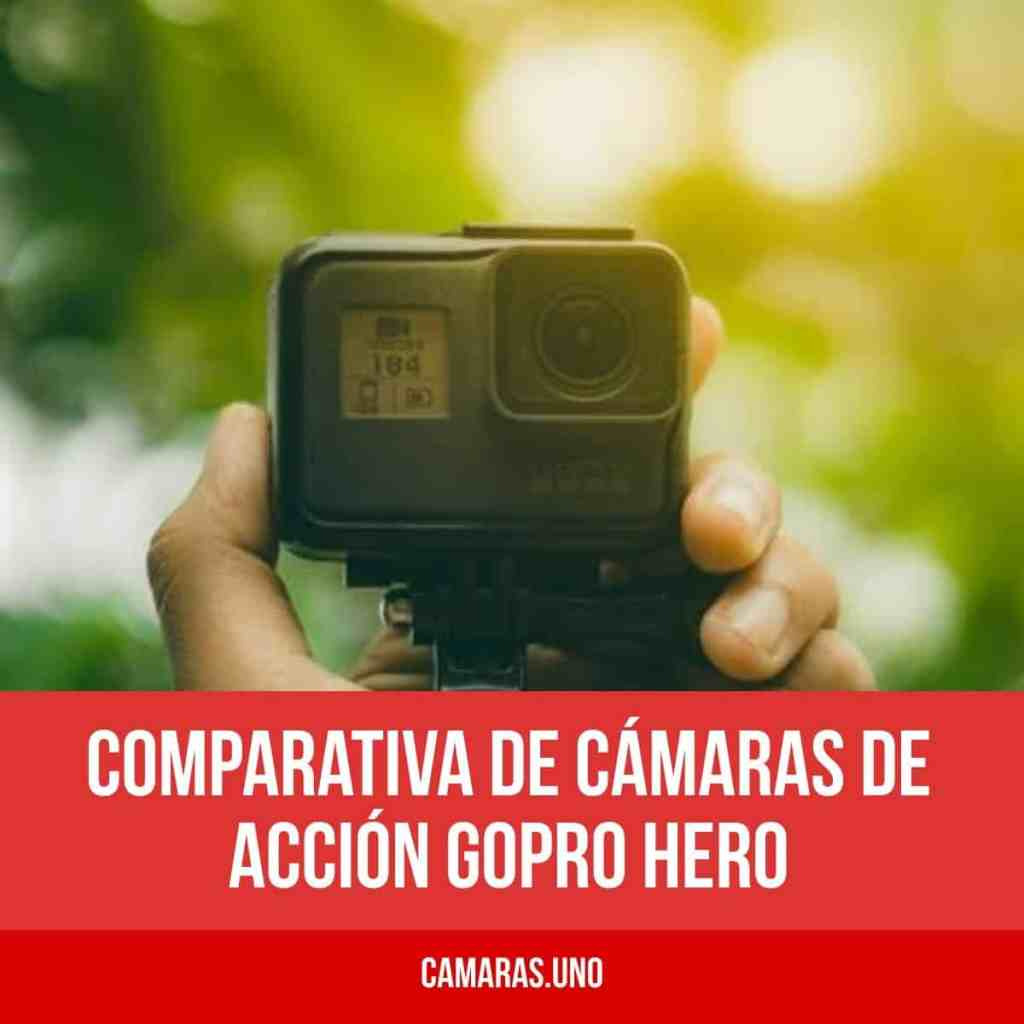 GoPro Hero 5 Black vs GoPro Hero 5 Session vs HERO6 vs HERO7 vs HERO8: comparativa de cámaras de acción