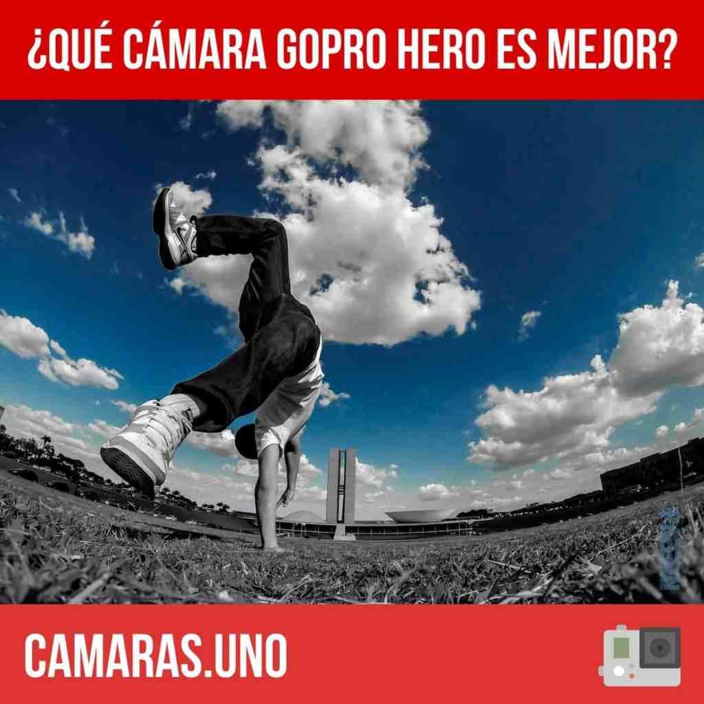 ¿Qué cámara GoPro HERO es mejor?