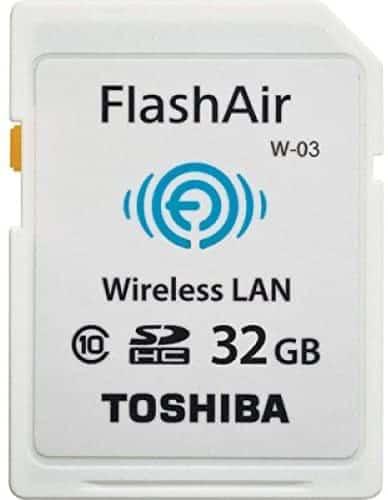 Tarjeta WIFI Toshiba FlashAir W-03 (32GB)