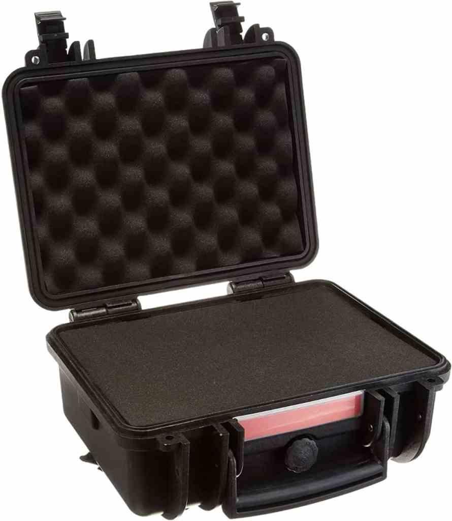AmazonBasics - Funda rígida para cámaras