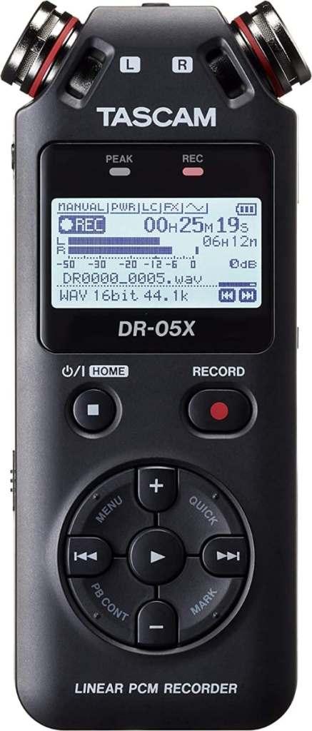 Tascam DR-05X, Grabadora Mano