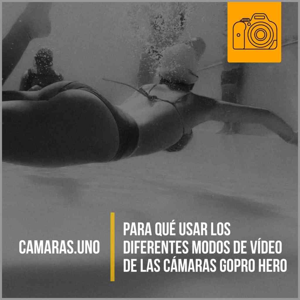 Para qué usar los diferentes modos de vídeo de las cámaras GoPro HERO