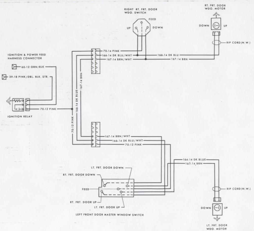 medium resolution of 78 camaro power window switch help camaro forums chevy 1970 mustang wiring schematic dodge challenger wiring
