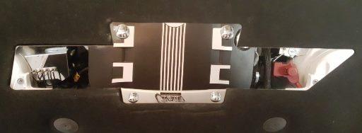 2010 – 2015 5th Gen Camaro V6 & V8 Engine Hood Liner Bowtie