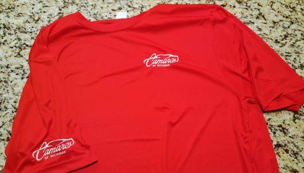 Camaros of Michigan Official T-Shirts