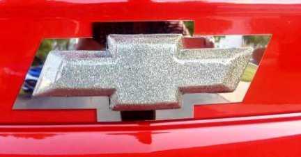 2010 – 2014 5th Gen Camaro V6 & V8 Trunk Bowtie Trim Cover