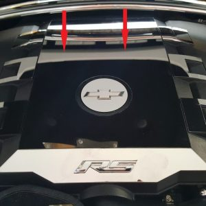 2010 – 2015 5th Gen Camaro V6 Engine Cover Trim Plate