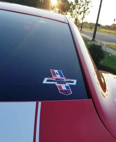 465 Camaro Elite Sticker