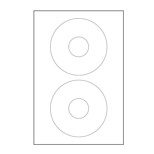Avery Compatible (8931) CD/DVD Labels