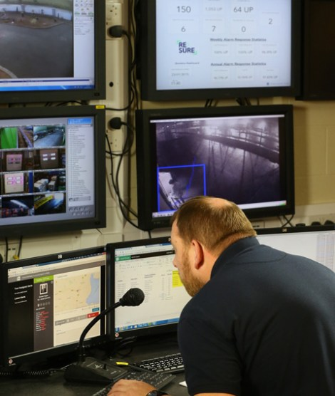 monitoring CCTV & Security systems