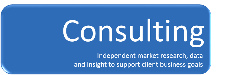 Consulting - independent market research and industry analysis