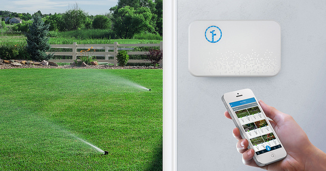 Rachio smart sprinklers using IoT