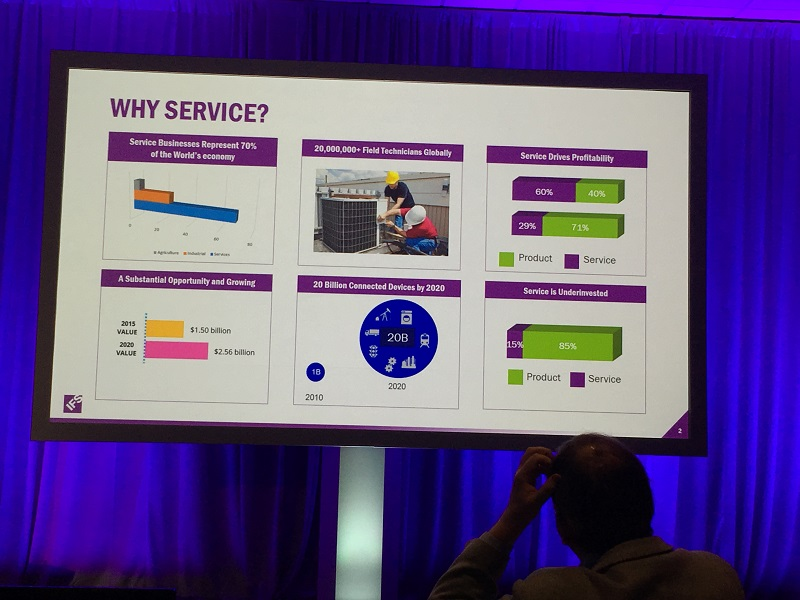 Mark Brewer of IFS explains the IoT Smart Product service challenge