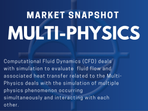 CAE Market Snapshot Multi-Physics Multi-Physics deals with the simulation of multiple physics phenomenon occurring simultaneously and interacting with each other.