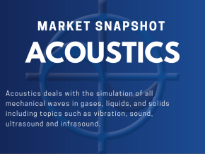 CAE Market Snapshot Acoustics